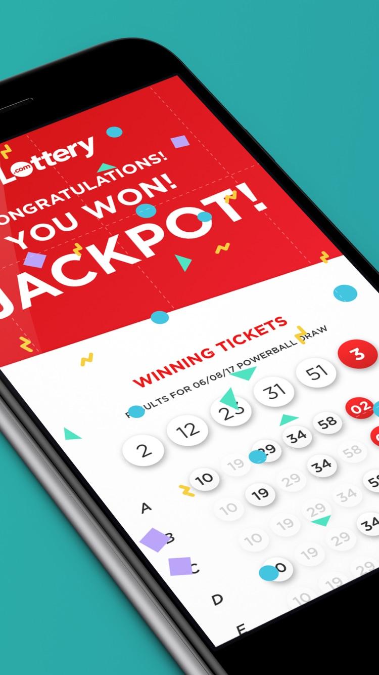 Lottery - Play the Powerball Screenshot