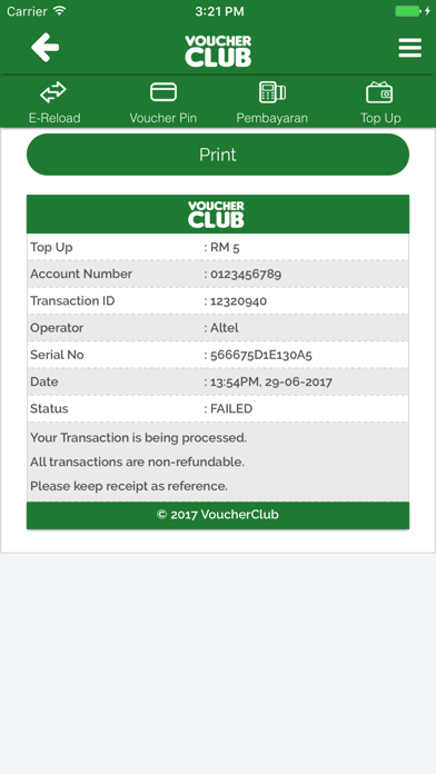 VoucherClub TopUp - by ATNetwork, PT - Lifestyle Category