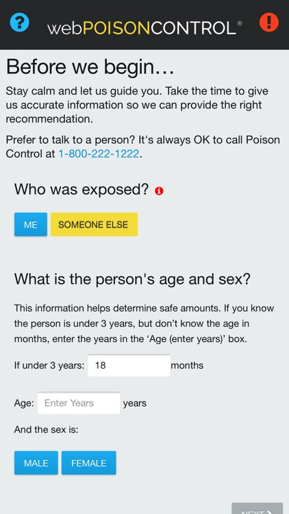 webPOISONCONTROL® Poison App screenshot-0
