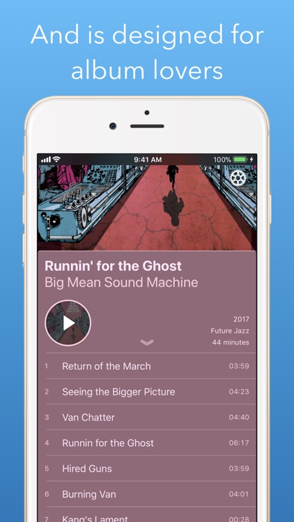 Jams On Toast – Music Player screenshot-4