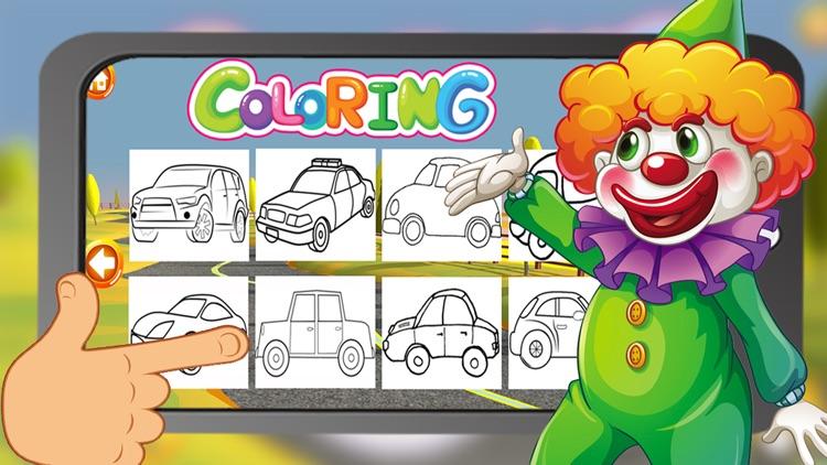 Coloring Book My Car screenshot-3