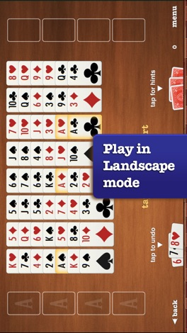 FreeCell ▻ Solitaire screenshot for iPhone