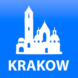 Krakow travel map guide 2018