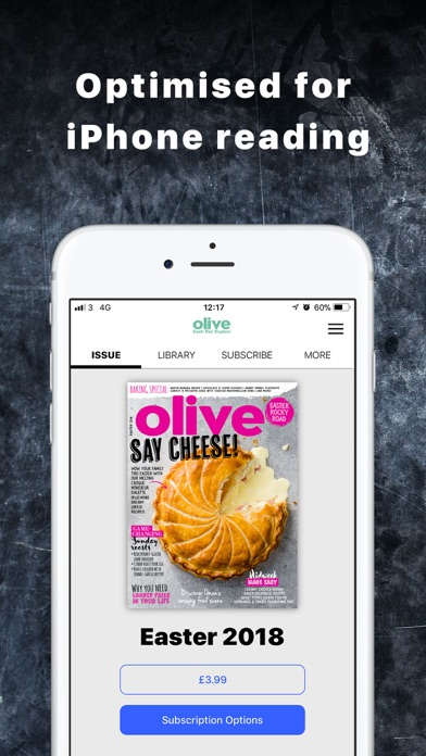Olive Magazine review screenshots