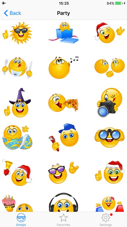 Adult Emojis Smiley Face Text screenshot-3