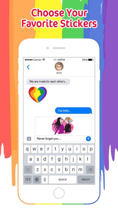 LGBT Animated Valentine's Day screenshot 2