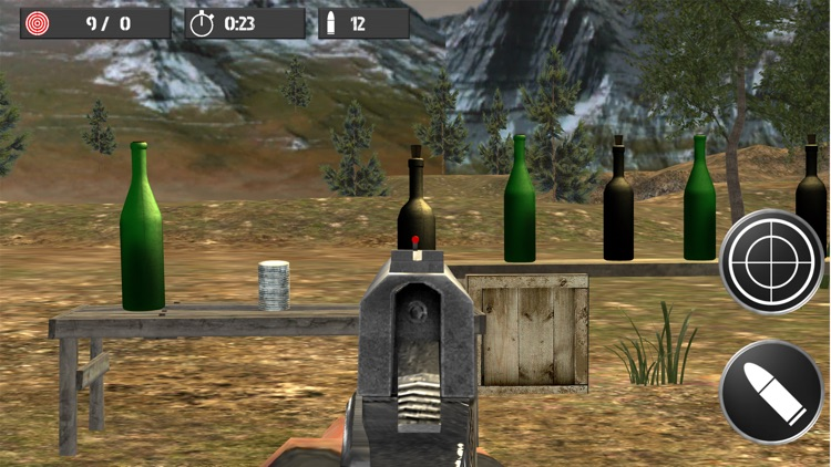 Shooting practice with bottles screenshot-4