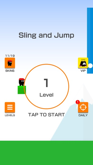 Sling and Jump - 窓用