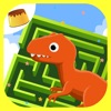 恐龙闯迷宫游戏-侏罗纪恐龙世界迷宫大冒险