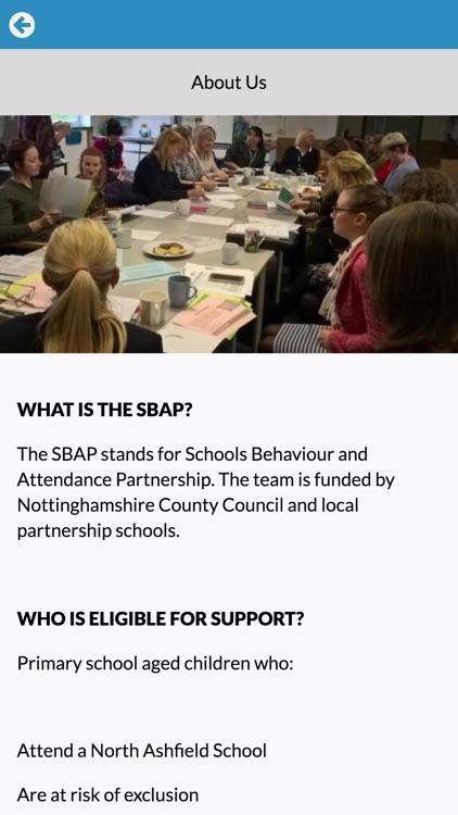 North Ashfield Primary SBAP