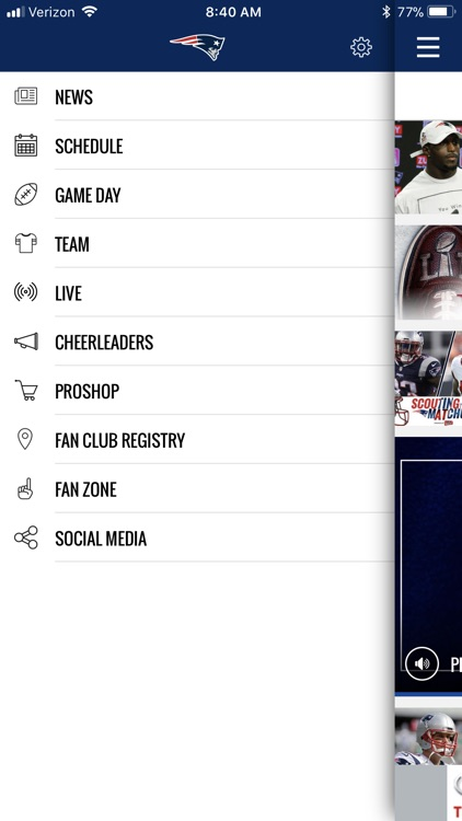 New England Patriots screenshot-4