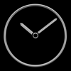 Nitrio - Titanium Luxury Clock artwork
