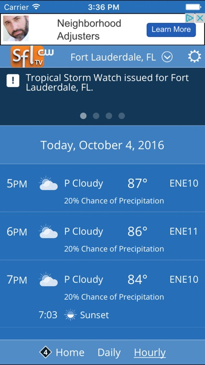 SFLCW Weather Funcast screenshot-3