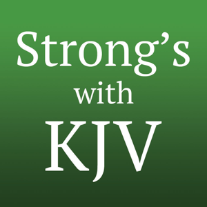 Strong's Concordance with KJV app