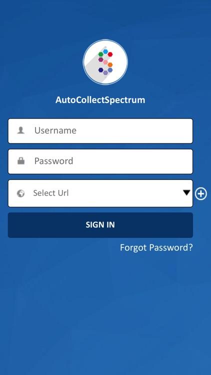 AutoCollectSpectrum