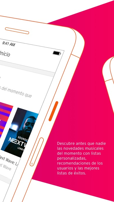 Screenshot for SoundCloud Música in Peru App Store