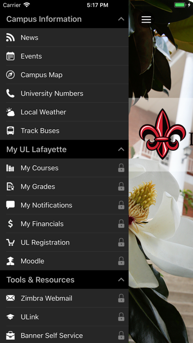 UL Lafayette by Ellucian™ (iOS, United States) - SearchMan