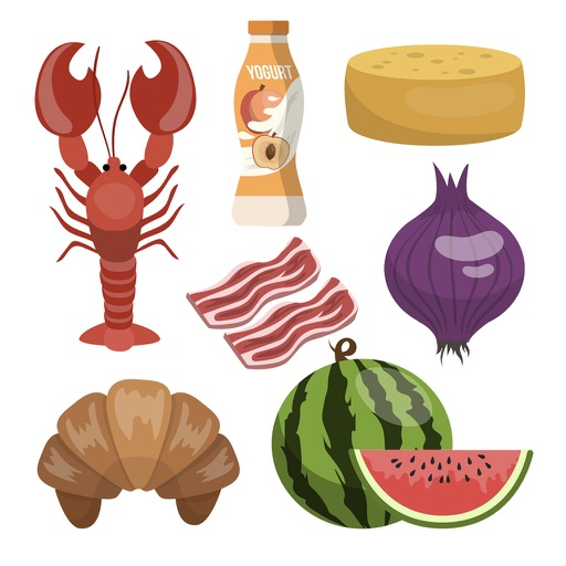 All Foods Stickers