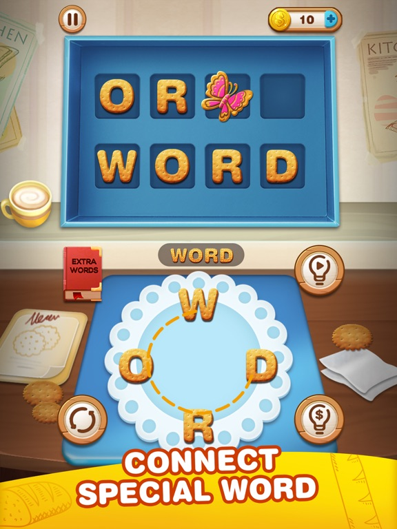 Word Sweets - Connect words на iPad