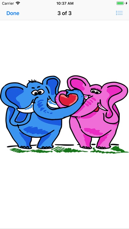 Pink Elephant Sticker Pack screenshot-4