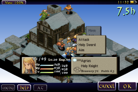 FINAL FANTASY TACTICS :WotL - náhled
