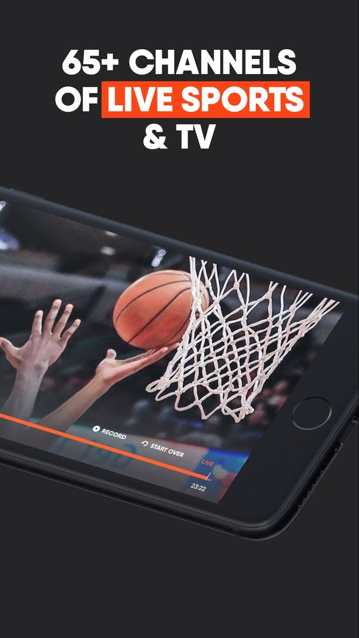 fuboTV: Watch Live Sports Screenshot