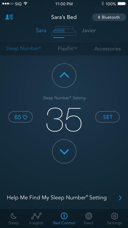 SleepIQ screenshot-3