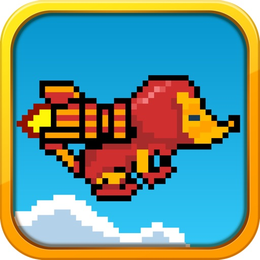 Jetpack Mouse - Flying Back to the 80's Iron Mouse icon