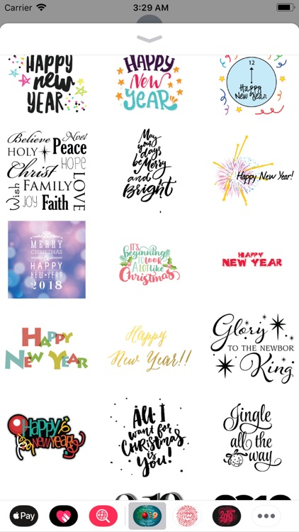 Christmas & New Year Wish Pack screenshot-3