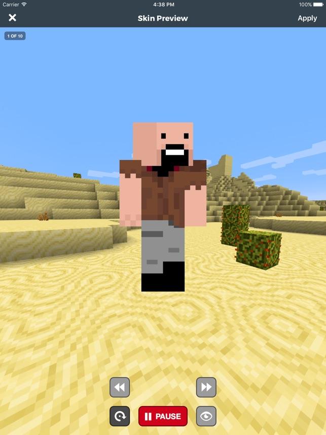 Skin Stealer Pro For Minecraft On The App Store - Minecraft skin stealer name mc