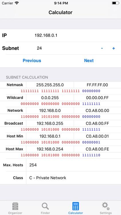 Subnet Calc Pro