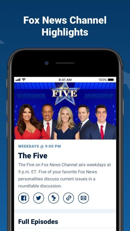 Fox News: Live Breaking News screenshot-3
