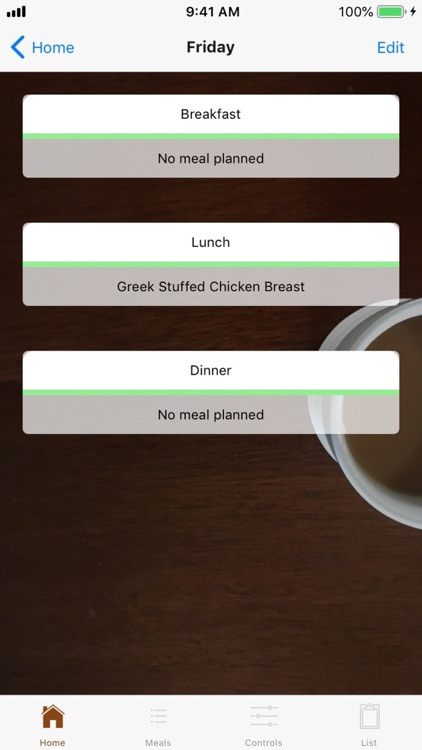 The Meal Planner