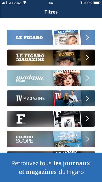 Kiosque Figaro : le Journal