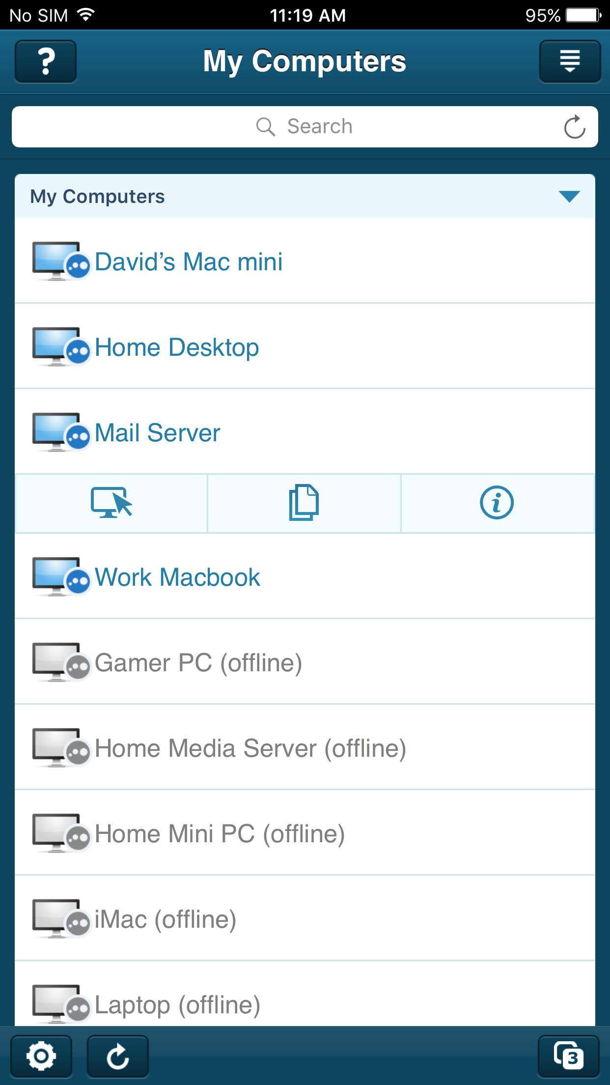 LogMeIn Screenshot