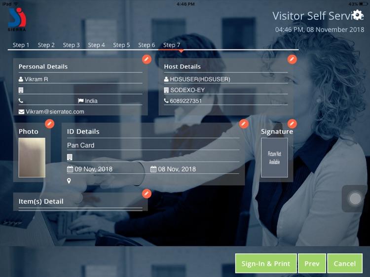 eFACiLiTY® VMS screenshot-4