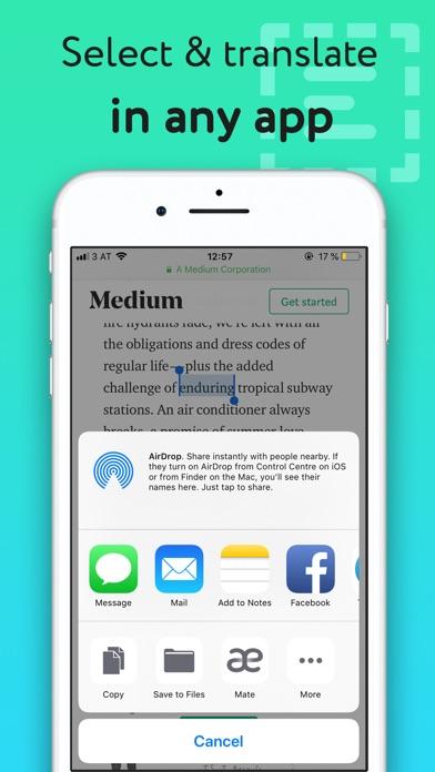 Screenshot #10 for Mate – Talk and Translate