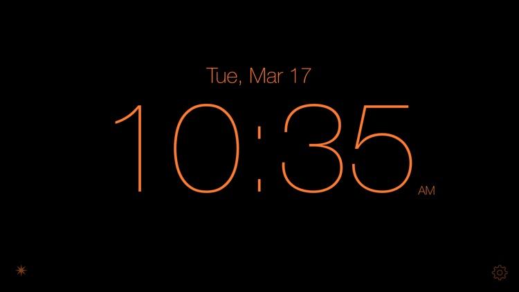 Disappearing Bedside Clock screenshot-4
