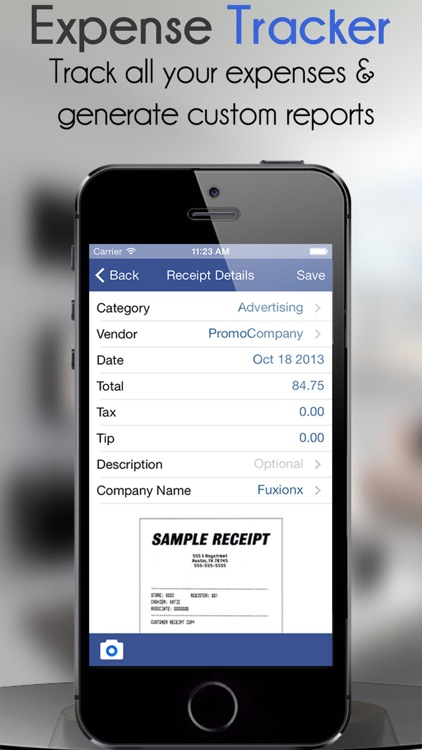 Business Expense Tracker 3.0 with Custom Reports screenshot-0