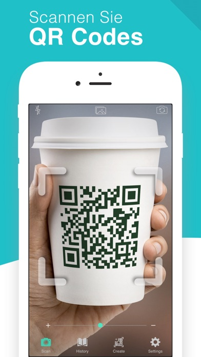 Screenshot for QR Code Scanner - QrScan in Germany App Store