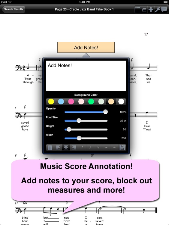 iGigBook Sheet Music Manager 5 screenshot-3