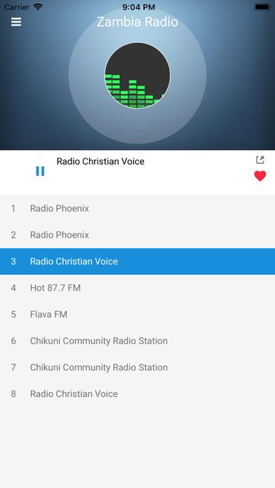 Zambia Radio Station FM Live screenshot two