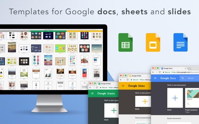 google docs templatesgn on the mac app store, Presentation templates