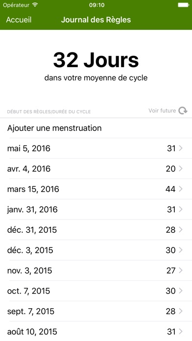 download Calendrier Féminin Deluxe apps 1