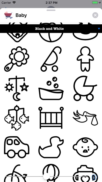 Infant Baby Stickers screenshot-6