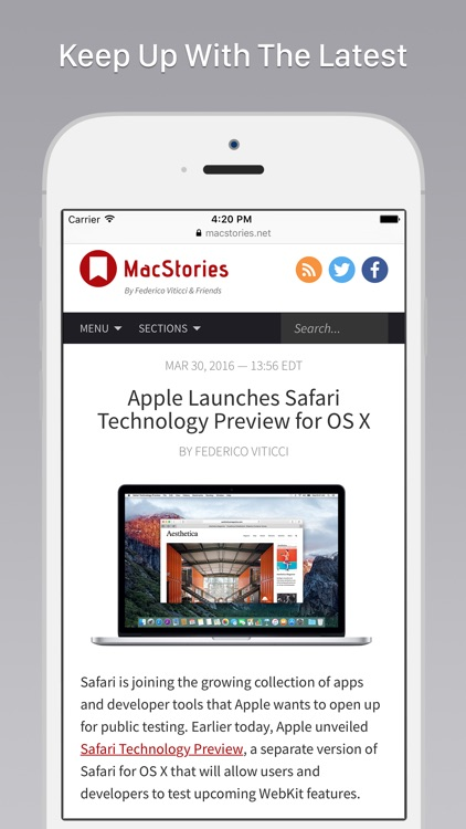 MacHash News screenshot-3