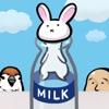 うさぎと牛乳瓶 - iPhoneアプリ