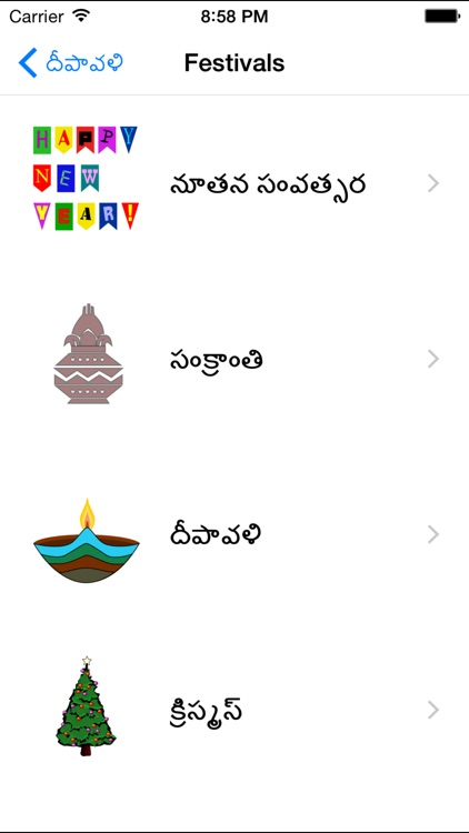 Telugu Greeting Cards