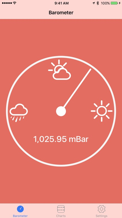 Digital Barometer S10 - iPhone 6 Edition screenshot-0