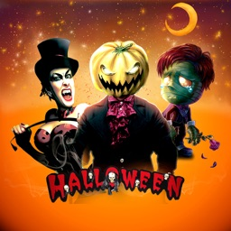 Spooky Halloween Cartoon Emoji